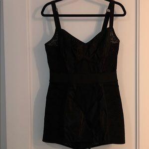 Dolce&Gabbana lace stretch faille bodysuit